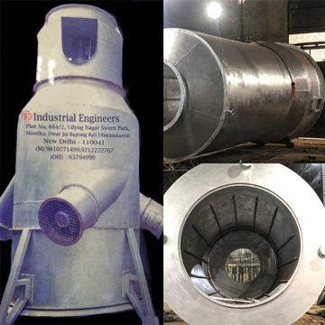 Cooling Hood For Bell Furnace