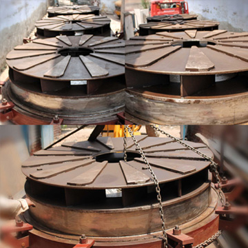 Base Assembly For Bell Furnace