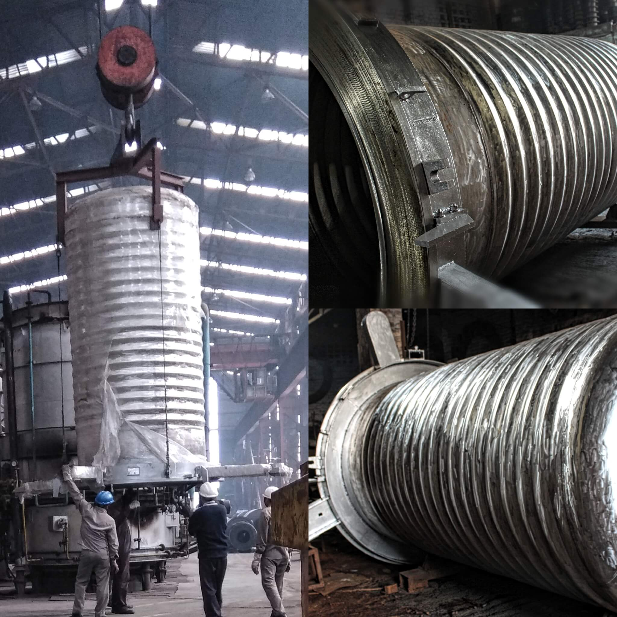 Corrugated Inner Cover For Annealing Furnace In Haryana