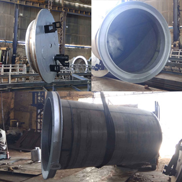 Gas Carburizing Bucket & Lid