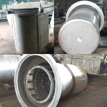 Annealing Pot With Charge Carrier